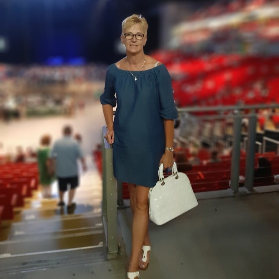 Erdősné Balogh Erika, a nyíregyházi röplabdacsapat ikonja
