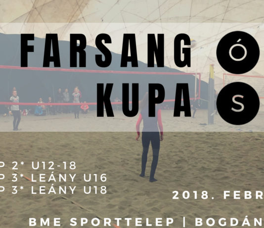 Strandröplabda  utánpótlás Farsang-kupát rendez az ÓSSC 9856909053